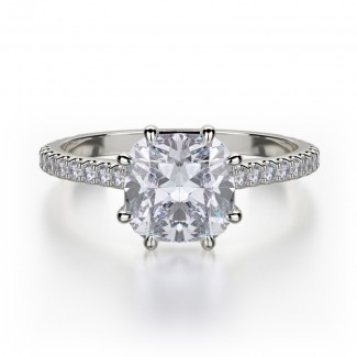 MICHAEL M Platinum Engagement Ring R712-1-5-PT