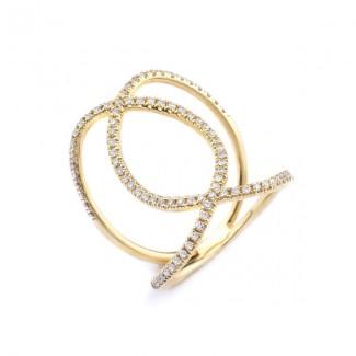 MICHAEL M 14k Yellow Gold Fashion Ring MMF277-14Y-6.5