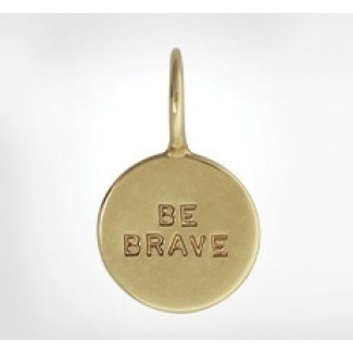 Unframed Round High Polished Charm