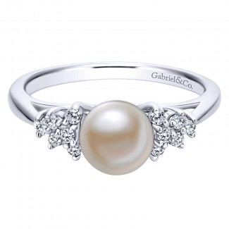 Ladies' Ring 14k White Gold Grace Fashion