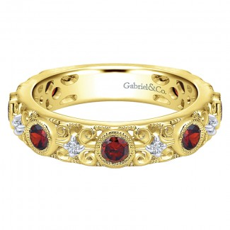 Ladies' Ring 14k Yellow Gold Stackable