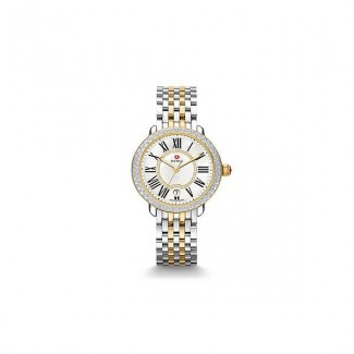 Serein 16 Two-Tone Diamond, Diamond Dial Watch