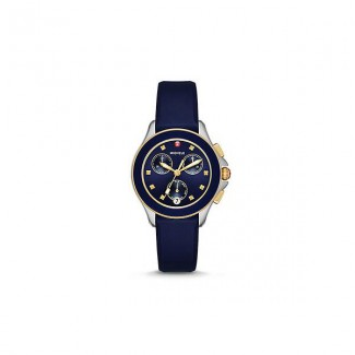 Cape Chrono Navy Two Tone Watch