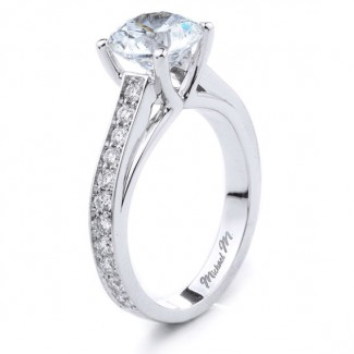 MICHAEL M  Engagement Ring R641-2