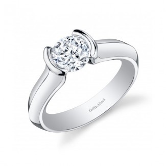 Gelin Abaci Tension Set Diamond Engagement Ring TR-254