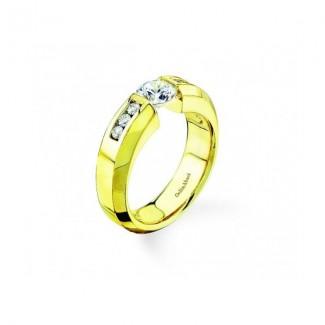 Gelin Abaci 14k Yellow Gold Diamond Engagement Ring TR-134