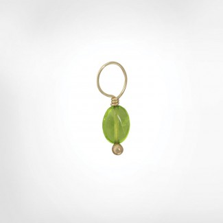 Peridot Unfaceted Oval