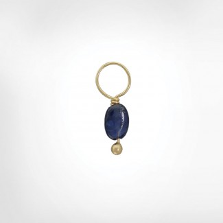 Blue Sapphire Unfaceted Oval