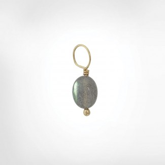 Labradorite Unfaceted Drop