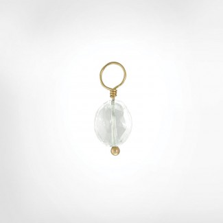 Clear Quartz Faceted Oval