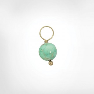 Vein Turquoise Unfaceted Ball