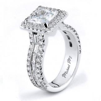 MICHAEL M  Engagement Ring R621