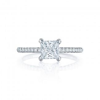 Tacori Petite Crescent Collection Solitaire Ring HT254515PR55