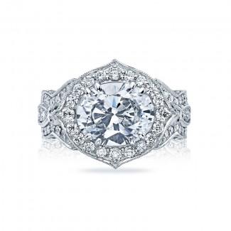 Tacori RoyalT Collection Engagement Ring HT2611OV11X9