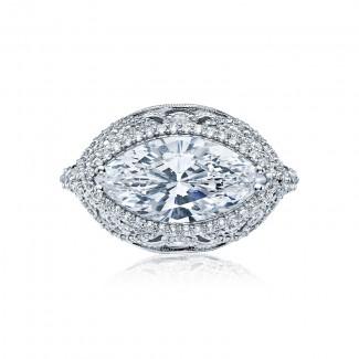 Tacori RoyalT Collection Tacori RoyalT Marquise Cut Engagement Ring HT2612MQ16X8