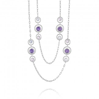 Tacori Lilac Blossoms Blooming Bursts Necklace