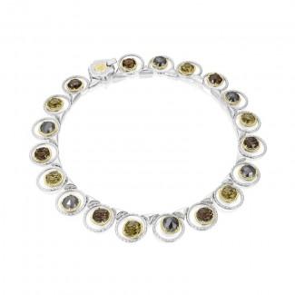 Tacori Midnight Sun Gem Circle Necklace