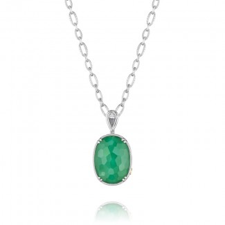 Tacori City Lights Oval Gem Pendant