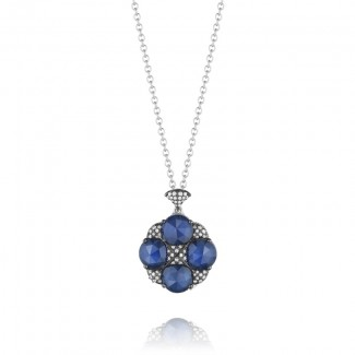 Tacori City Lights Pave Gem Cluster Pendant