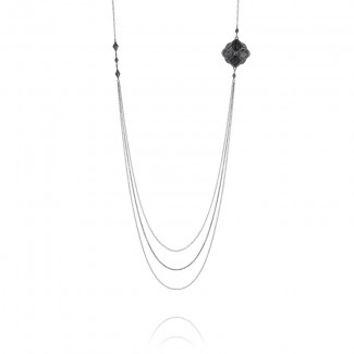 Tacori City Lights After Dark Delicate Layers Multi-Strand Necklace
