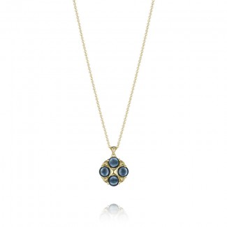 Tacori Golden Bay Lotus Four Gem Pendant