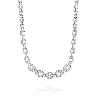 Tacori The Ivy Lane Silver Escalating Links Necklace