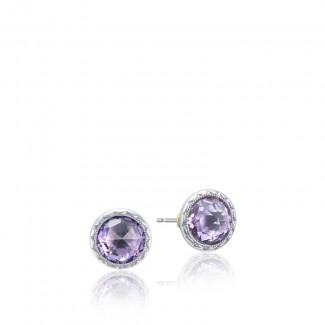 Tacori Lilac Blossoms Bezel Stud Earring
