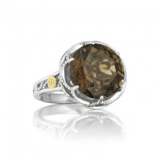 Tacori Truffle Round Silver Frame Ring