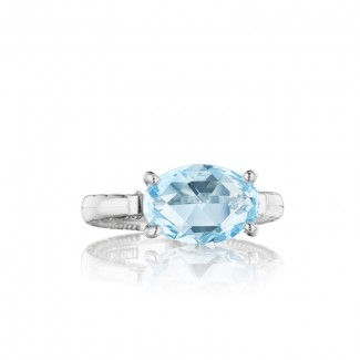 Tacori Island Rains East-West Oval Gem Ring