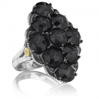 Tacori City Lights After Dark Gem Cluster Ring