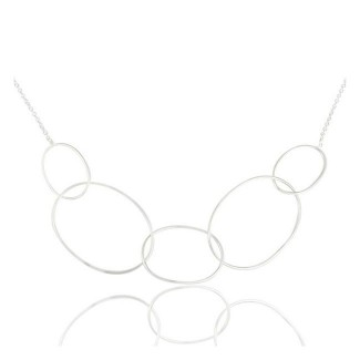 Tribeca Necklace In Reclaimed Sterling Silver