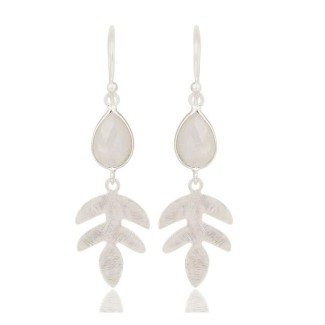 Yucca Earrings In Reclaimed Sterling Silver