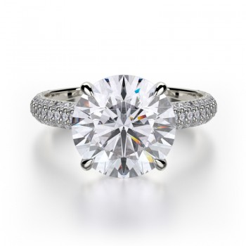 MICHAEL M Platinum Engagement Ring R707-3-PT