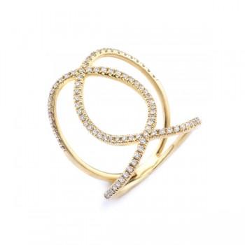MICHAEL M 18k Yellow Gold Fashion Ring MMF277-18Y-6.5