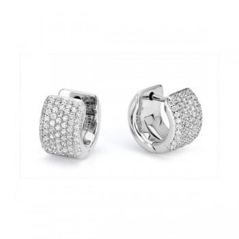 MICHAEL M 14k White Gold Earring MOB164-14W-14W