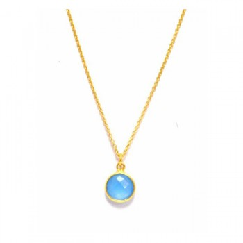 Portofino Petite Semi Precious Gemstone Pendant