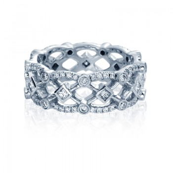 Verragio Eterna Collection Diamond Eternity Band WED-4026P-GOLD