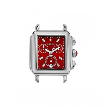 Deco, Red Diamond Dial