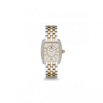 Urban Mini Diamond Two-Tone, Diamond Dial Watch