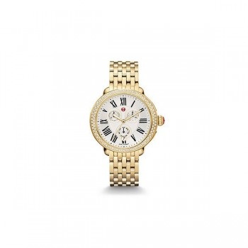 Serein Diamond Gold Watch