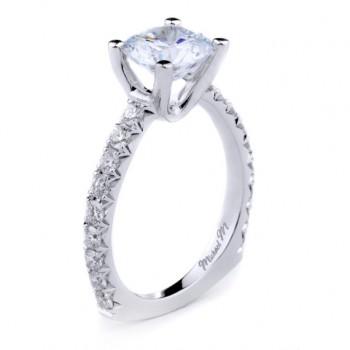 MICHAEL M  Engagement Ring R637-2