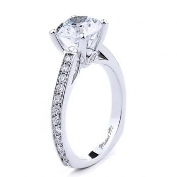 MICHAEL M  Engagement Ring R648