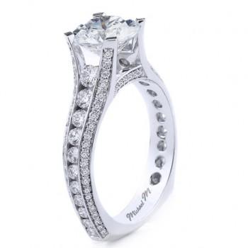 MICHAEL M  Engagement Ring R656-2