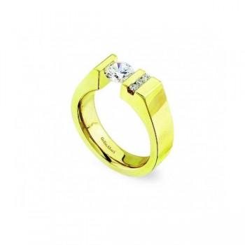 Gelin Abaci 14k Yellow Gold Diamond Engagement Ring TR-130