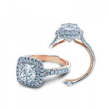 Verragio Double Halo Diamond Engagement Ring