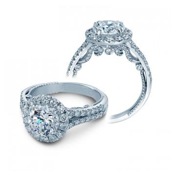 Verragio Halo Split Shank Engagement Ring