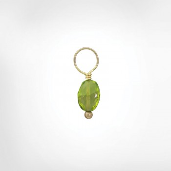 Peridot Faceted Oval