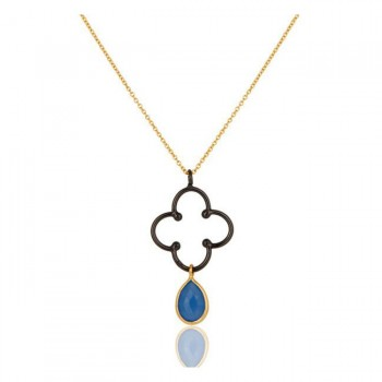 Serendipity Necklace In Reclaimed Sterling Silver + 22K Gold Vermeil
