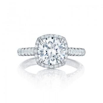 Tacori Petite Crescent Collection Solitaire Ring HT254725CU85