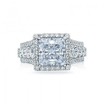 Tacori RoyalT Collection Princess Cut Ring HT2613PR85